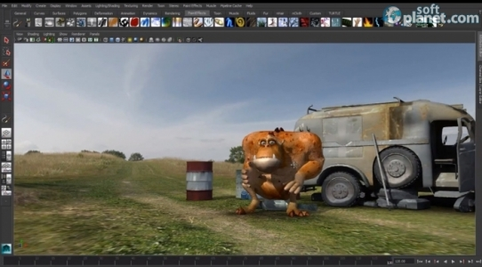Autodesk Maya Screenshot3
