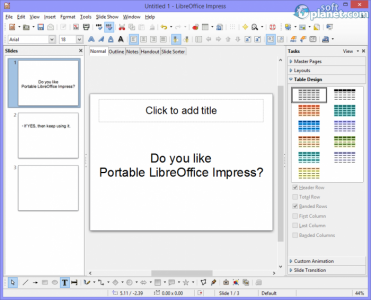 Portable LibreOffice Screenshot3