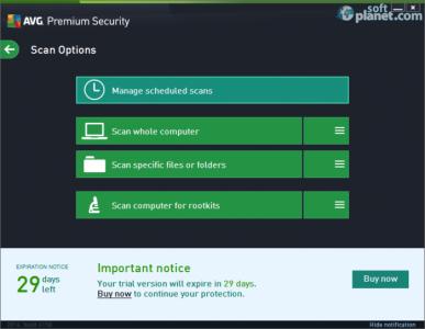AVG Premium Security Screenshot5