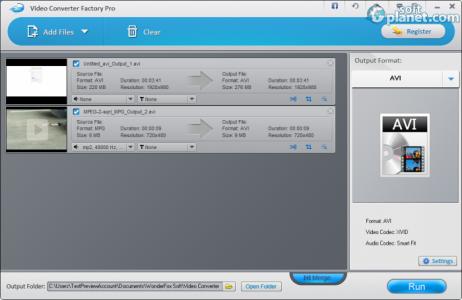 WonderFox DVD Video Converter Pro Screenshot2