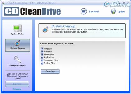 GSA Cleandrive Screenshot2