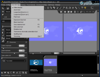SILKYPIX Developer Studio Pro 5 Screenshot4