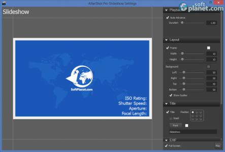 Corel Aftershot Pro Screenshot3