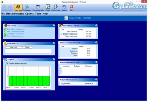Accounts and Budget Free Screenshot2