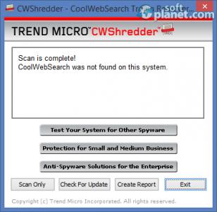CWShredder Screenshot4