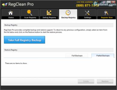 RegClean Pro Screenshot5