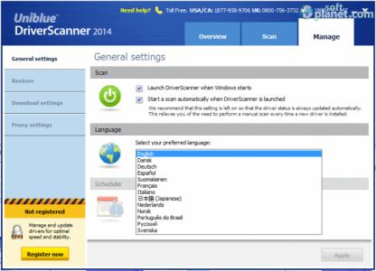 DriverScanner 2014 Screenshot3