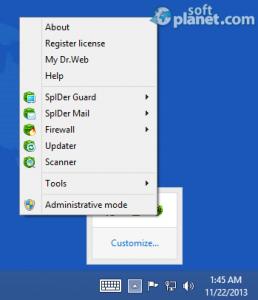Dr. WEB Anti-Virus Screenshot2