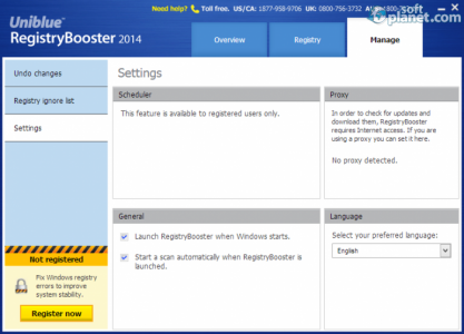 Registry Booster 2014 Screenshot3