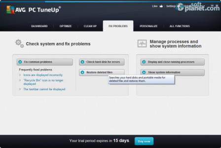 AVG PC Tuneup Screenshot4