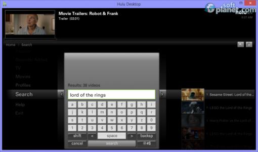 Hulu Desktop Screenshot4