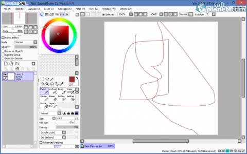 PaintTool SAI Screenshot2