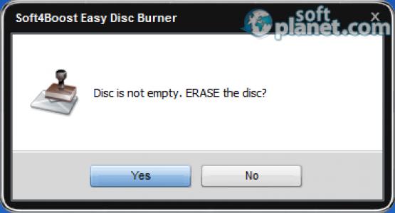 Easy Disc Burner Screenshot5