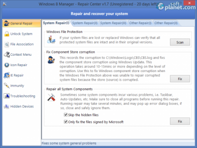 Windows 8 Manager Screenshot4