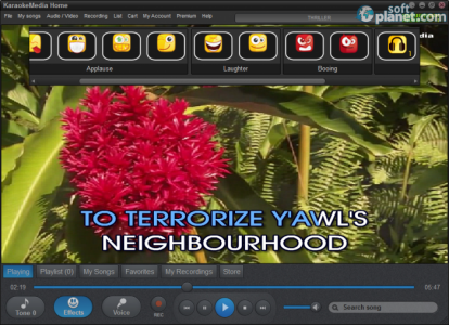 Karaokemedia Home Screenshot3