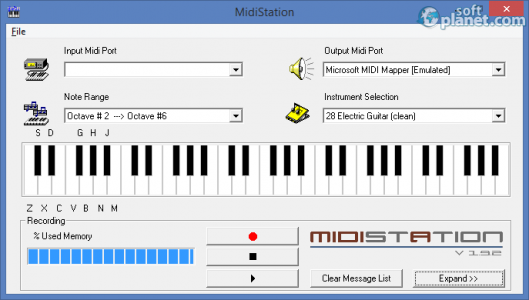 MidiStation Screenshot3
