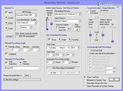 Easy Hi-Q Recorder Screenshot2