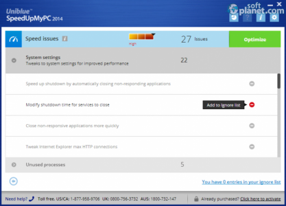 SpeedUpMyPC 2014 Screenshot4