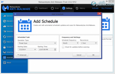 Malwarebytes Anti-Malware Screenshot4