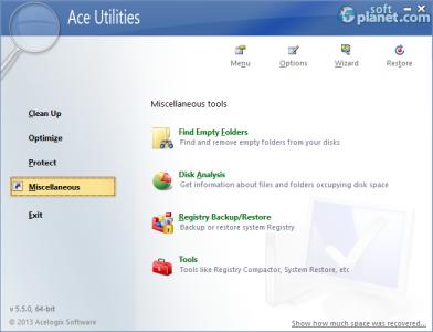 Ace Utilities Screenshot4