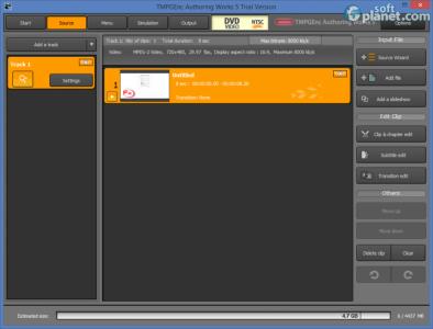 TMPGEnc Authoring Works Screenshot2