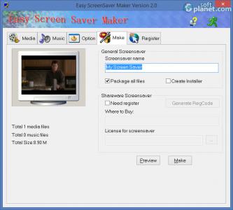 Easy Screen Saver Maker Screenshot3