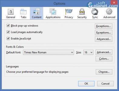 Cyberfox Portable Screenshot2