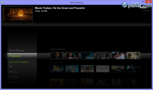 Hulu Desktop Screenshot2