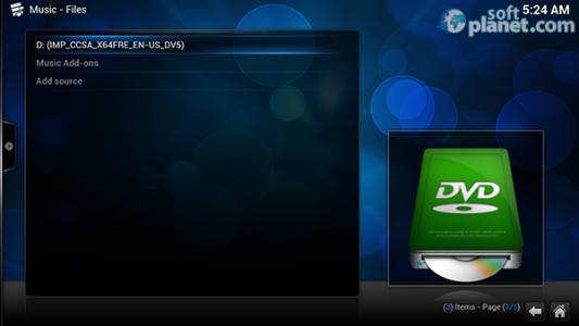 XBMC Media Center Screenshot2
