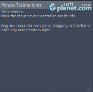 Phrase Trainer Screenshot3