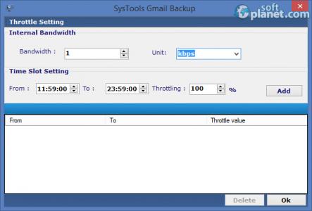 SysTools Gmail Backup Screenshot2