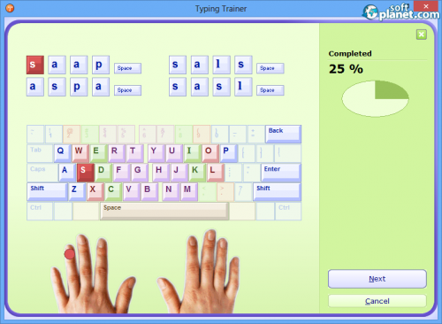 Typing Trainer Screenshot4
