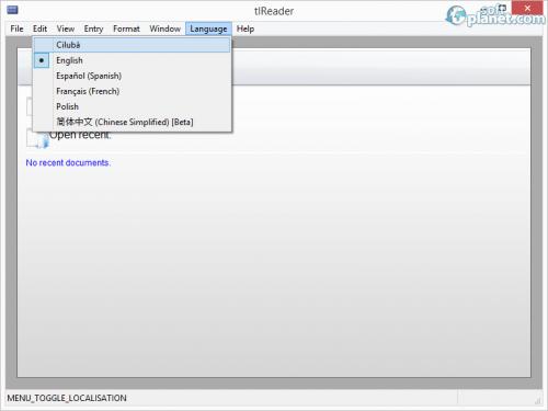 tlReader Screenshot2