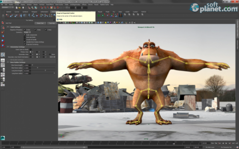 Autodesk Maya Screenshot2