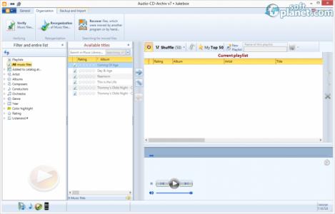Audio-CD-Archiv v7 Screenshot4