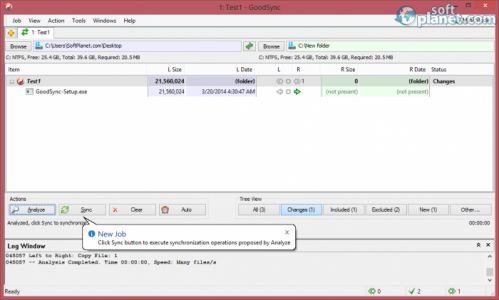 GoodSync Screenshot3