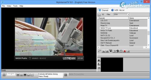 MyInternetTV Screenshot3