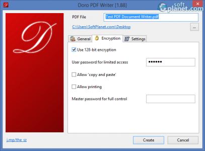Doro PDF Writer Screenshot2