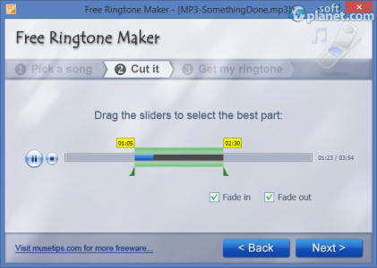 Free Ringtone Maker Screenshot2