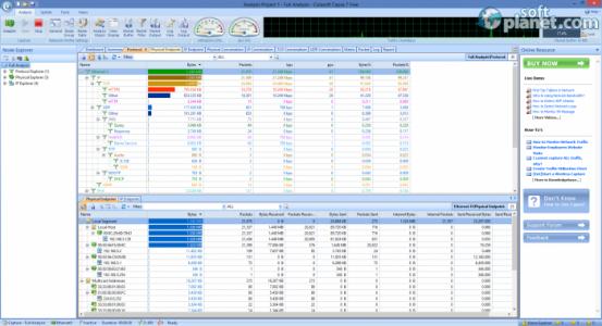Capsa Network Analyzer Free Edition Screenshot3