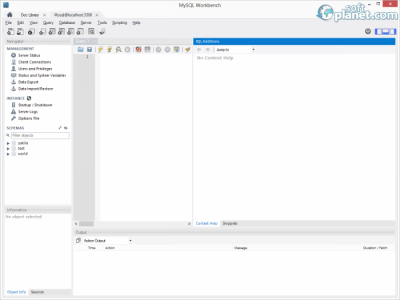 MySQL for Windows Screenshot2