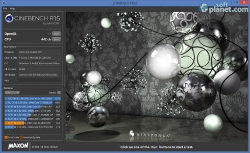 Maxon Cinebench Screenshot3