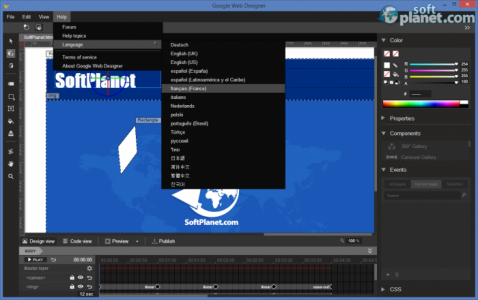 Google Web Designer Screenshot5