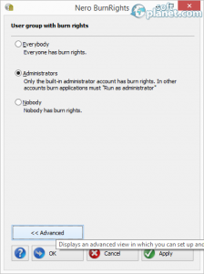 Nero BurnRights Screenshot2