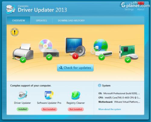 Carambis Driver Updater Screenshot3