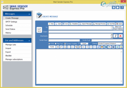 Mail SenderExpress Pro Screenshot2