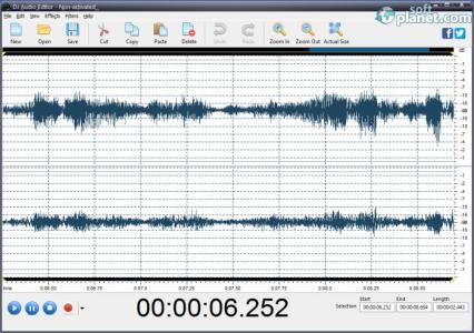 DJ Audio Editor Screenshot4