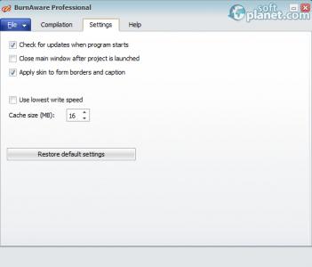 BurnAware Professional Screenshot3
