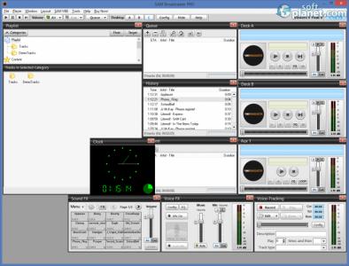 SAM Broadcaster Screenshot5