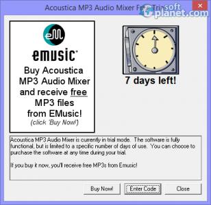 Acoustica MP3 Audio Mixer Screenshot4